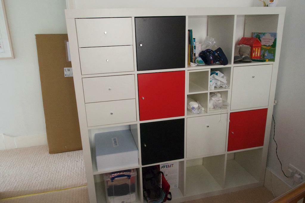 Ikea Trysil Double Bed Frame ~   Drawers In Mile End London Gumtree also Ikea White Bookcase In London