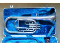 Lovely YAMAHA Tenor/Alto Horn with Hard-case and mouthpiece