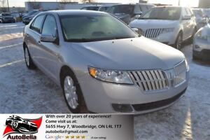2010 Lincoln MKZ LEATHER BLUETOOTH  NO ACCIDENT