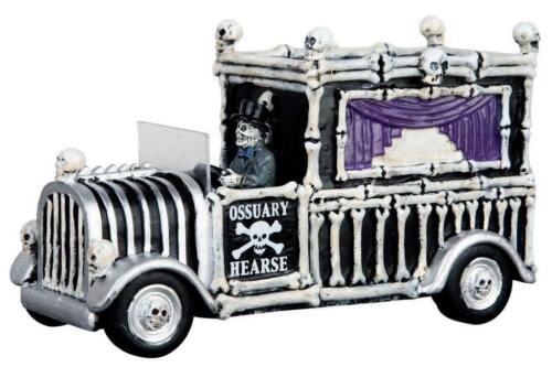 Lemax Spooky Town Hearse Of Bones #63266