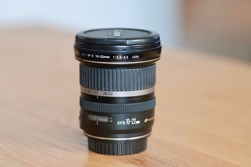 Canon EFS 10-22mm f/3.5-4.5 Wide Angle Lens - Mint Condition