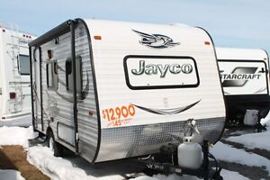 2015 Jayco Jay Flight SLX Series 145RB Travel Trai