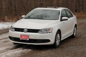 2011 Volkswagen Jetta 2.0L Comfortline | Sunroof | CERTIFIED...