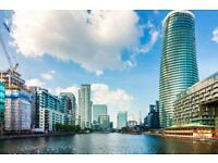 LUXURY BRAND NEW 3 BED 2 BATH BALTIMORE TOWER ARENA TOWER E14 CANARY WHARF CROSSHARBOUR SOUTH QUAY