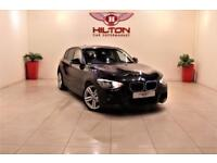 BMW 1 SERIES 2.0 116D M SPORT 5d 114 BHP NO DEPOSIT NEED - DRIV (black) 2012