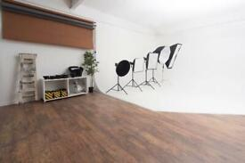 PHOTOGRAPHY STUDIO TO HIRE! £50.00 FOR 2 HOURS, BIRMINGHAM CITY CENTRE.
