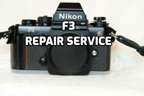 """""""REPAIR SERVICE"""" Nikon F3 Repair and Service with 6month Warranty"""