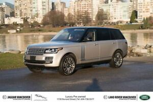 2015 Land Rover Range Rover V8 Autobiography Supercharged LWB *C