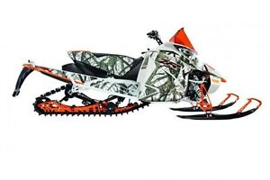 2017 arctic cat ZR 9000 LIMITED 2017 ORANGE/CAMO(137) -