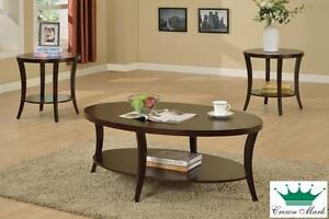 Brand NEW 3-Piece Coffee Table Set! Call 709-726-6466!
