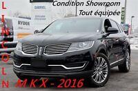 2016 Lincoln MKX TOIT+AWD+NAV+CUIR