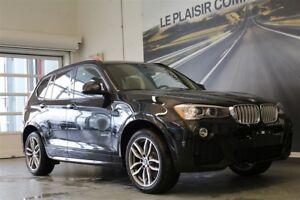 2017 BMW X3 xDrive28i LIGNE M SPORT, GROUPE SUPÉRIEUR AMÉLIORÉ