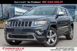 2016 Jeep Grand Cherokee Limited, SUNROOF, LEATHER, BACK UP