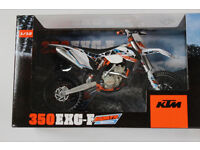 New Ray Toy 1:12 KTM EXC-F 350 2014 6 DAYS ARGENTINA Xmas Gift Model Toy Bike