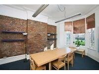 Bright Ground Floor Office. Cornbrook tram 400m. Utilities incl. 2 Smaller rooms from £55/wk ea.