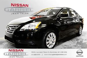 2014 Nissan Sentra S ONE OWNER/BLUETOOTH/BACK UP CAMERA/A.C. AND