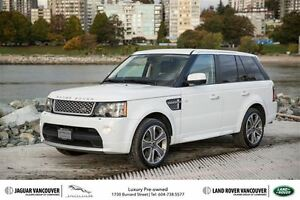 2012 Land Rover Range Rover Sport V8 Supercharged Autobiography