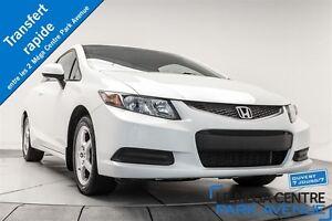2012 Honda Civic LX COUPE *RÉSERVÉ* A/C, BLUETOOH, MAGS