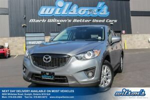 2013 Mazda CX-5 GS! SUNROOF! REAR CAMERA! HEATED SEATS! BLUETOOT