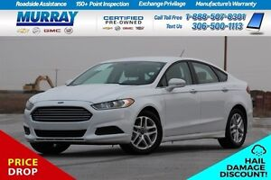 2016 Ford Fusion SE HAIL DAMAGE Moose Jaw Regina Area image 1