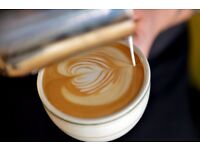 Experienced barista required for an independent coffee shop