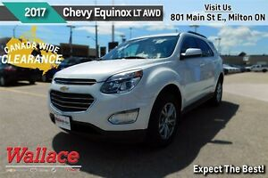 2017 Chevrolet Equinox LT w/1LT/AWD/SUNROOF/HEATED SEATS/REAR CA