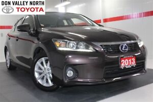 2013 Lexus CT 200h Btooth Heated Lther Seats Pwr Seats Wndws Mir