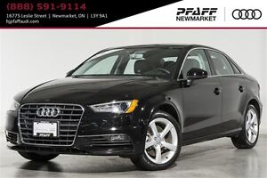 2016 Audi A3 2.0T Komfort quattro 6sp S tronic   BY APT. ONLY  