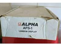 Webcon Alpha AFS-1 AFR Meter
