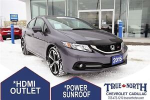 2015 Honda Civic Si FWD - ONLY 13,700KMS!!!