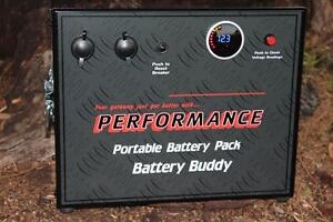 DUAL BATTERY SYSTEM BATTERY BOX 12V AGM PORTABLE ARK ENGLE WAECO Valley View Salisbury Area Preview