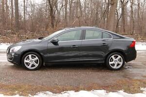 2012 Volvo S60 T5 Level 2 ONLY 47K   Sunroof   CERTIFIED