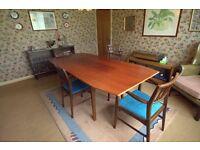 Retro Vintage Mid-Century Dining Table