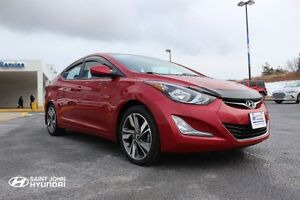 2015 Hyundai Elantra GLS! SUNROOF! HEATED SEATS! BACK UP CAM!