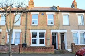 3 bed house with double reception room and garden