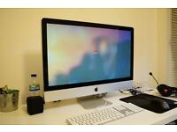 "Broken 27"" iMac 2010 (for spares)"