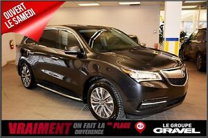 2014 Acura MDX NAVI GPS CAMERA BLUETOOTH CUIR TOIT OUVRANT