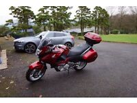 Honda Deauville Immaculate with only 550 miles yes 550 miles on clock. Never been in the rain
