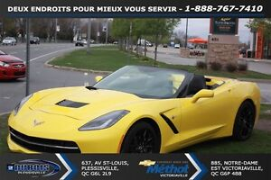 2016 Chevrolet Corvette STINGRAY CONVERTIBLE+3LT+ECHAPPEMENT PER