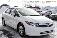2012 Honda Civic Sedan LX * A/C * Bluetooth * Groupe électrique
