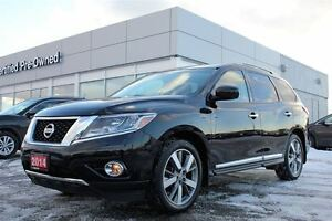 2014 Nissan Pathfinder Platinum Rear DVD -  Free Delivery