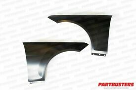 Mercedes C Class W204 2007 - 2014 Wing Front Left Right Pair New Primed Steel