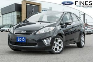 2012 Ford Fiesta SEL - MOONROOF & HEATED SEATS!