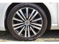 VW PASSAT SPORT ALLOY WHEEL CONTIENTAL TYRE - BRAND NEW UNUSED