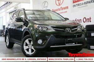 2013 Toyota RAV4 AWD XLE ALLOYS MOONROOF BACKUP CAMERA
