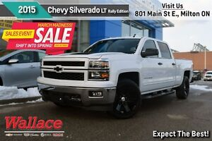 2015 Chevrolet Silverado 1500 LT 1LT/1-OWNER/RALLY EDITION/22-IN