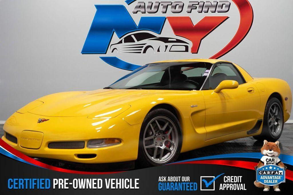 2001 Yellow Chevrolet Corvette Z06    C5 Corvette Photo 1