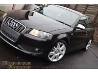 Audi s3 8p Quattro Black 2007 model 60k genuine miles FSH