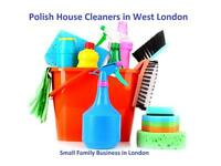 EXCELLENT POLISH HOUSE CLEANERS IN CHISWICK, EALING, ACTON, KEW GARDENS, WEST END