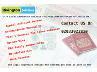 IMMIGRATION SOLICITORS - Pls call Sushil 07766229409 South East , East London